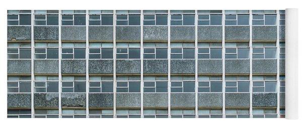 Windows Pattern Modern Architecture Yoga Mat