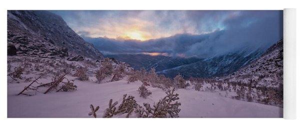 Windswept, Spring Sunrise In Tuckerman Ravine Yoga Mat