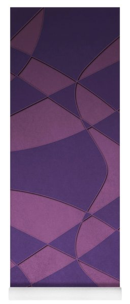 Wings And Sails - Purple And Pink Yoga Mat