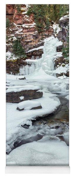Winter Falls Yoga Mat