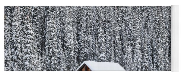 Winter Land Yoga Mat