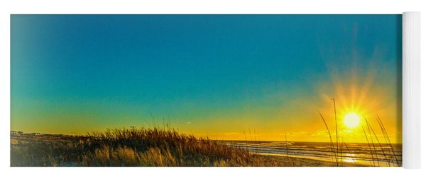 Winter On The Southern Outer Banks Yoga Mat