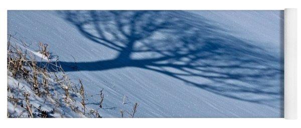Winter Shadow Yoga Mat