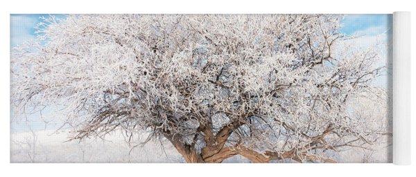 Winter Tree Yoga Mat