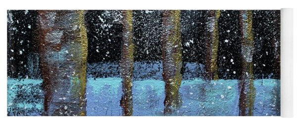 Wintry Scene I Yoga Mat