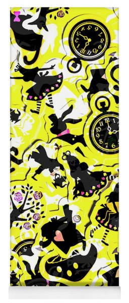 Wonderland Design Yoga Mat