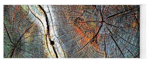 Wood Age Cut Wood Yoga Mat