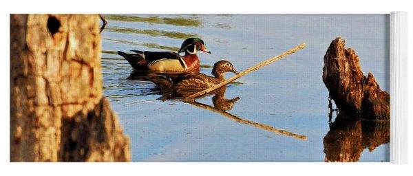 Wood Ducks Yoga Mat