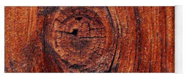 Wood Knot Yoga Mat