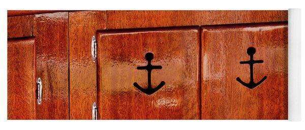 Wooden Cabinet Yoga Mat