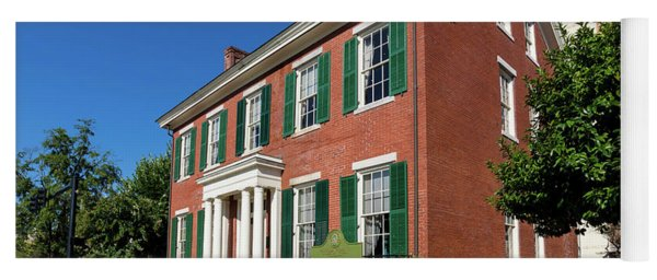Woodrow Wilson Boyhood Home - Augusta Ga 2 Yoga Mat