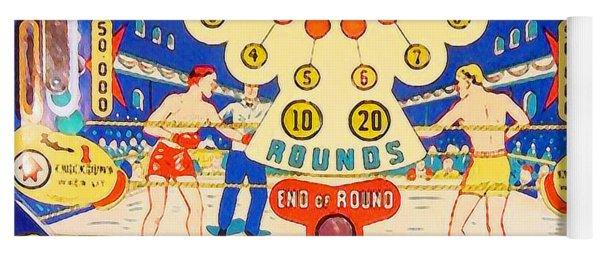 World Champ Pinball Machine Penny Arcade Nostalgia 20181225 V2 Square Yoga Mat