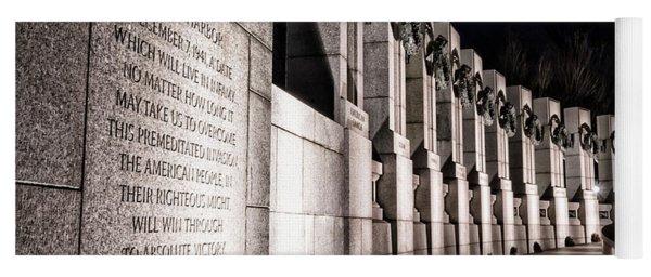 World War II Memorial Yoga Mat