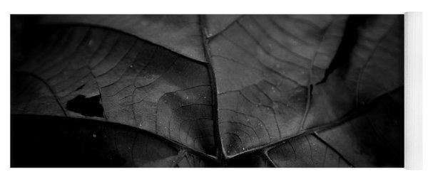 Worn Leaf Yoga Mat