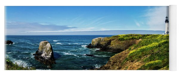 Yaquina Head Lighthouse Yoga Mat