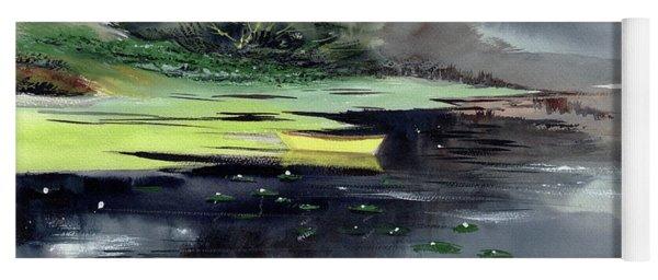 Yellow Boat Yoga Mat
