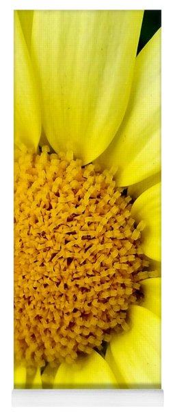 Yellow Daisy Yoga Mat