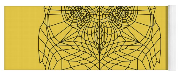 Yellow Owl Yoga Mat