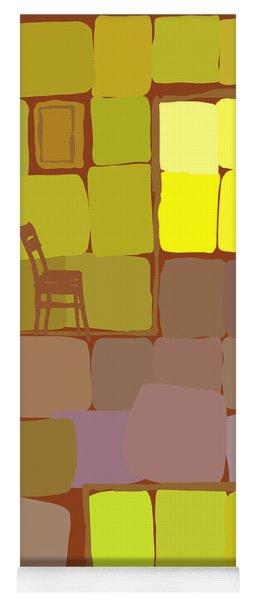Yellow Room Yoga Mat