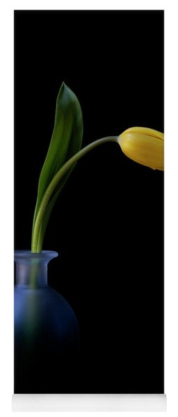 Yellow Tulip Yoga Mat