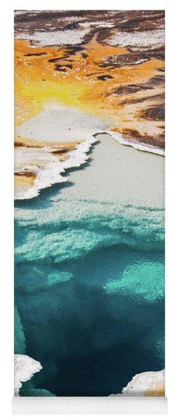 Yellowstone Hot Spring Vertical Yoga Mat