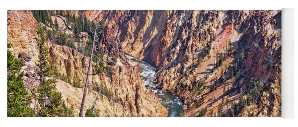 Yellowstone River Yoga Mat