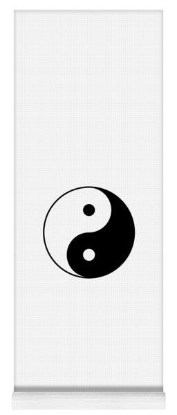 Yin And Yang Yoga Mat