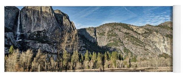 Yosemite Reflection Yoga Mat