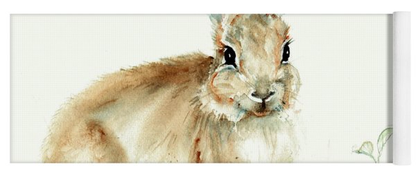 Young Rabbit Yoga Mat