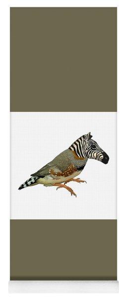 Z Is For Zebra Finch Thats Not A Zebra Finch Yoga Mat