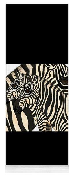 Z Is For Zebras Yoga Mat