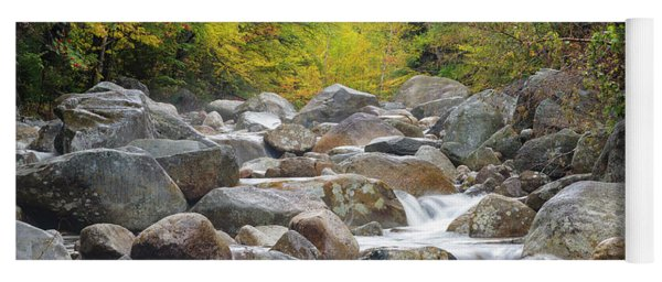 Zealand River - White Mountains, New Hampshire Yoga Mat