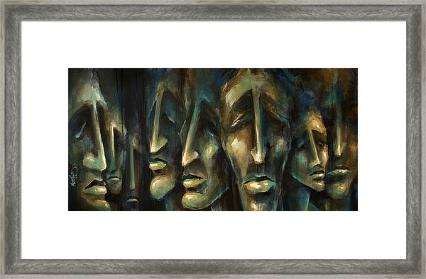 ' Jury Of Eight ' Framed Print