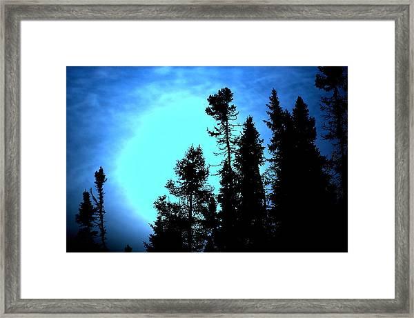 -35 West Of Upsala Framed Print