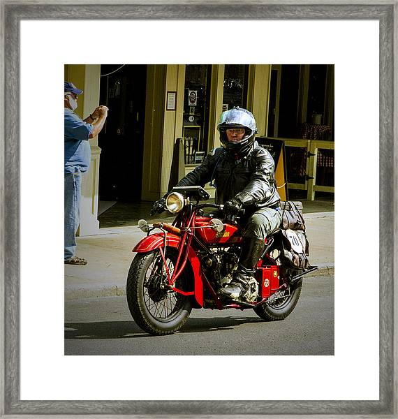 # 70 Rolls In To Cape G'. Framed Print