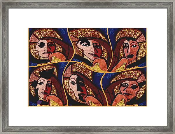 959 - Decomposition   Framed Print