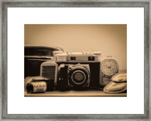 A Kodak Moment Framed Print