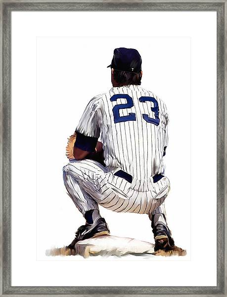 A Moment To Remember II Don Mattingly  Framed Print