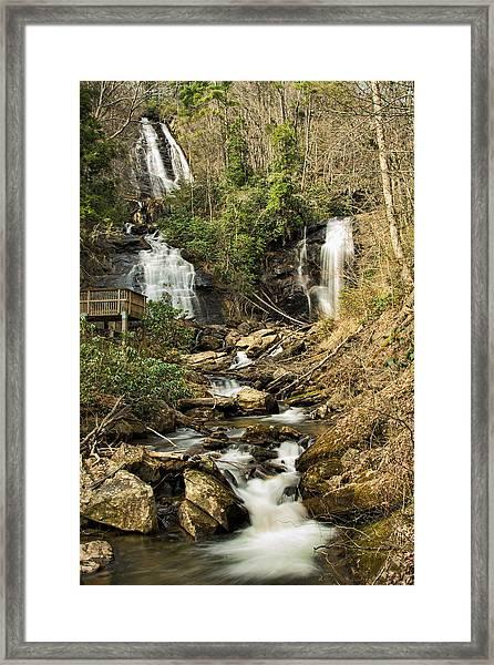 Amacola Falls Framed Print