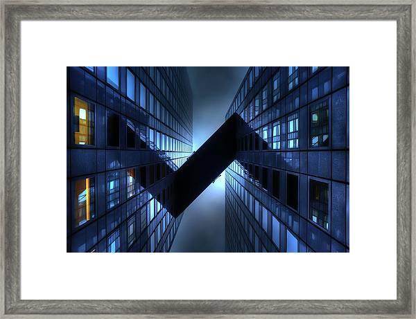 \\/\\ Framed Print