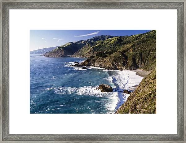 Big Sur At Big Creek Framed Print