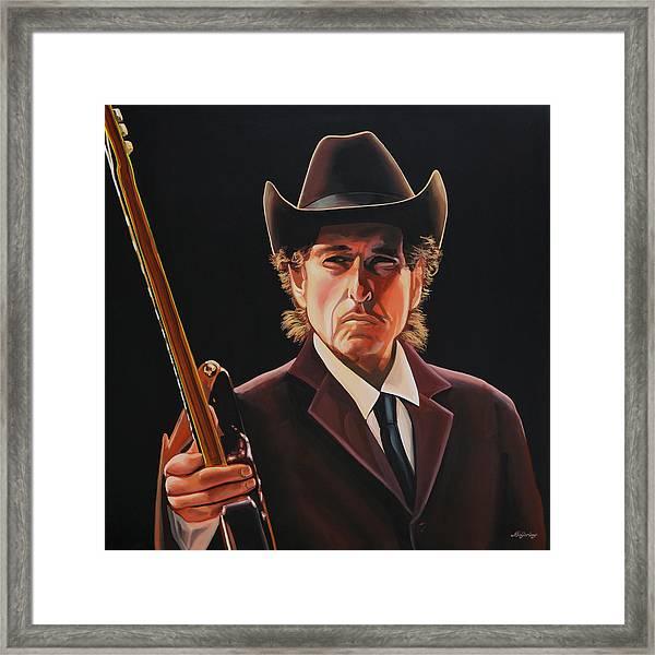 Bob Dylan 2 Framed Print