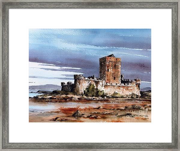 Doe Castle In Donegal Framed Print