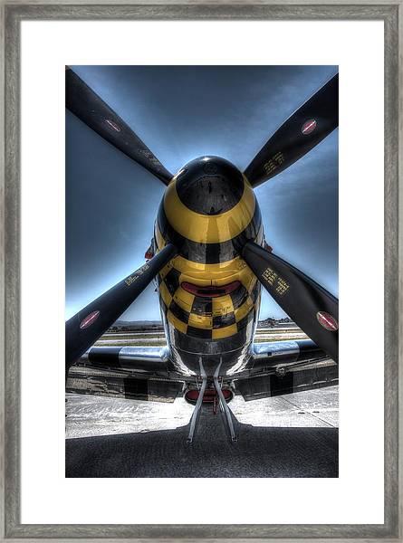 Kimberly Kaye N451tb At Hollister  Framed Print by John King
