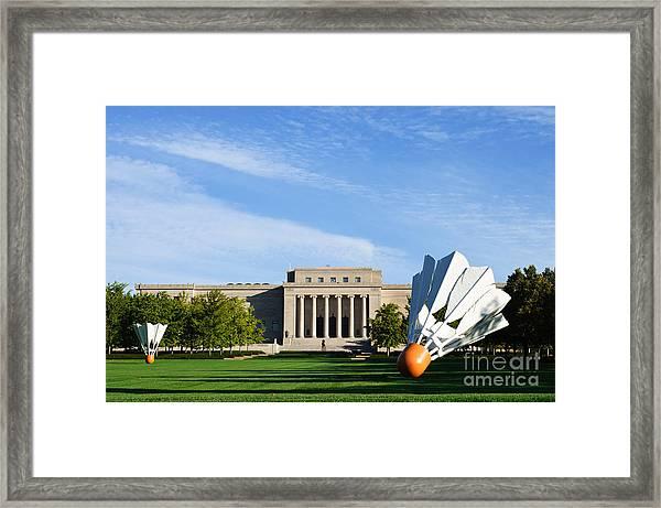 Nelson Adkins Art Museum Framed Print