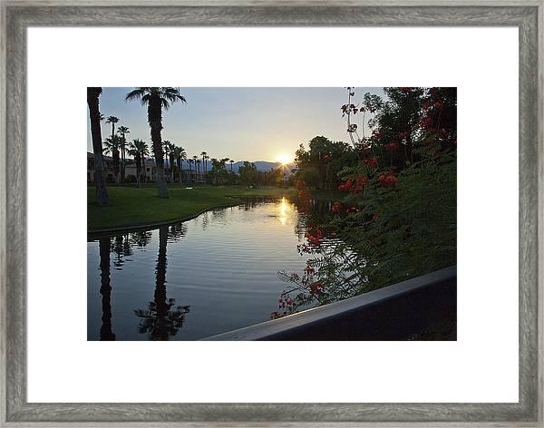 Reflections On The Lake Framed Print by Gilbert Artiaga