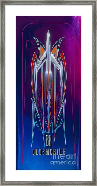 Rocket 88  Framed Print
