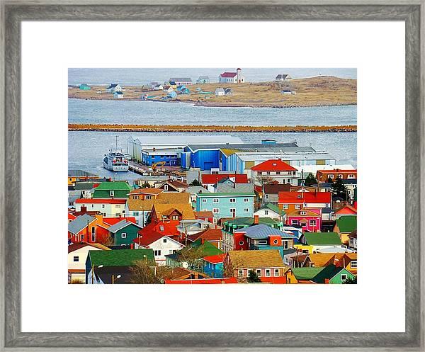 Saint Pierre Et Miquelon Framed Print