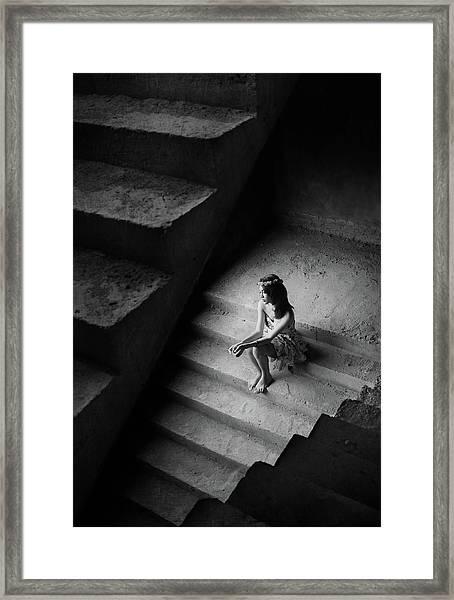 =/=/= Framed Print by Sebastian Kisworo
