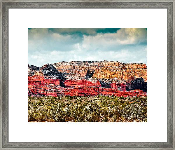 Secret Mountain Wilderness Sedona Arizona Framed Print